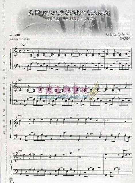 柯恩琴谱精选(二)图片