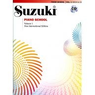 Suzuki Piano School 鈴木鋼琴教本 1 (書+CD)