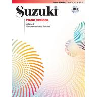 Suzuki Piano School 鈴木鋼琴教本 2 (書+CD)