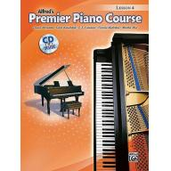 Alfred Premier Piano Course, Lesson 4 + CD