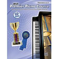 Alfred Premier Piano Course, Performance 3 + CD