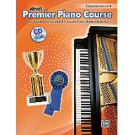 Alfred Premier Piano Course, Performance 4 + CD