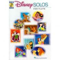 DISNEY SOLOS FOR FLUTE Play Along with a Full Symp...