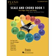 Faber Piano Adventures- Scale and Chord - Book 1