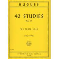 HUGUES 40 Studies, Opus 101