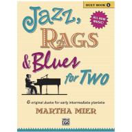 Jazz, Rags & Blues for Two, Book 1