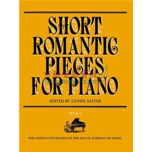 SHORT ROMANTIC PIECES FOR PIANO BOOK 1