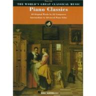 PIANO CLASSICS: 40 ORIGINAL WORKS BY 22 COMPOSERS