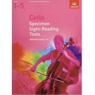 英國皇家 ABRSM 大提琴視奏測驗範例 Specimen Sight-Reading Tests for Cello : Grades 1-5