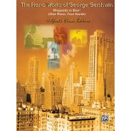 THE PIANO WORKS OF GEORGE GEIRSHWN Rhapsody in Blu...