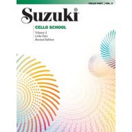 Suzuki Cello School, Vol.2【Cello Part】