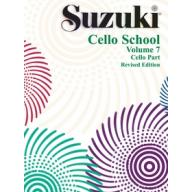 Suzuki Cello Part,Vol.7 鈴木大提琴教本 7