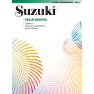 Suzuki Cello Part & Accompaniment Book, Vol.1 鈴木大提琴教本 1 鋼琴伴奏