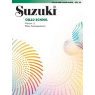 SUZUKI CELLO SCHOOL VOLUME 10