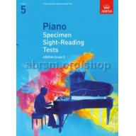 英國皇家 ABRSM 鋼琴視奏測驗範例 Piano Specimen Sight-Reading Tests, Grade 5