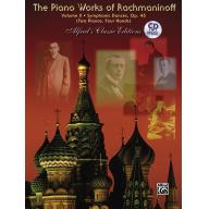 The Piano Works of Rachmaninoff, Volume X: Symphon...