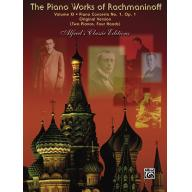 The Piano Works of Rachmaninoff, Volume XI: Piano ...