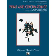 Pomp and Circumstance 2 pianos 8 hands