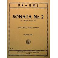 BRAHMS Sonata No. 2 in F major, Opus 99