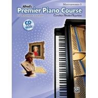 Premier Piano Course, Masterworks 3 +CD
