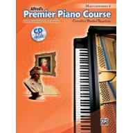 Premier Piano Course, Masterworks 4 +CD