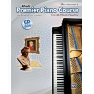 Premier Piano Course, Masterworks 6 +CD
