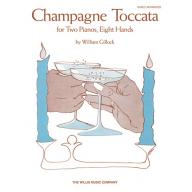 Gillock【Champagne Toccata】for Two Pianos , Eight Hands