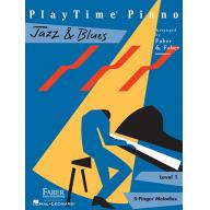 PLAYTIME® PIANO JAZZ & BLUES Level 1