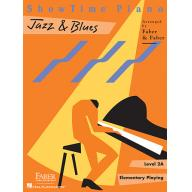 SHOWTIME® PIANO JAZZ & BLUES Level 2A