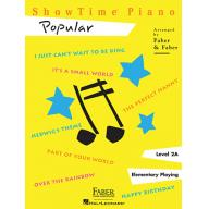 SHOWTIME® PIANO POPULAR Level 2A