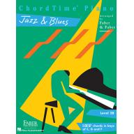 CHORDTIME® PIANO JAZZ & BLUES Level 2B