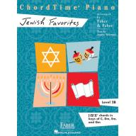 CHORDTIME® PIANO JEWISH FAVORITES Level 2B