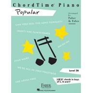 CHORDTIME® PIANO POPULAR Level 2B