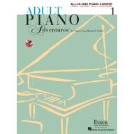【Faber】Adult Piano Adventures – All-in-One Piano C...