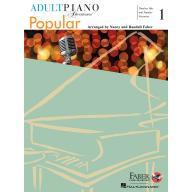 【Faber】Adult Piano Adventures – Popular Book 1