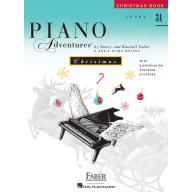 Faber Piano Adventures CHRISTMAS BOOK Level 3A
