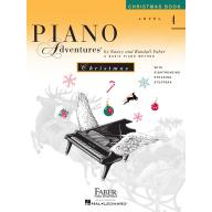 Faber Piano Adventures CHRISTMAS BOOK Level 4