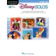 DISNEY SOLOS FOR VIOLIN Play Along with a Full Sym...