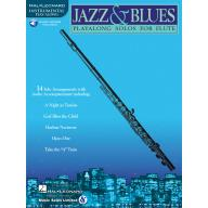 Jazz & Blues Instrumental Play-Along for Flute