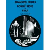 Advanced Scales and Double Stops Viola Method