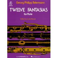 Georg Philipp Telemann Twelve Fantasias for Solo F...