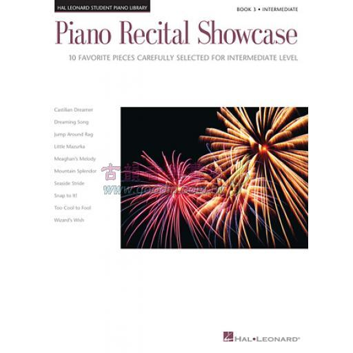 PIANO RECITAL SHOWCASE – BOOK 3
