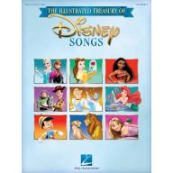 THE ILLUSTRATED TREASURY OF DISNEY SONGS – P/V/G