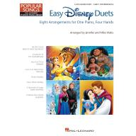 EASY DISNEY DUETS – One Piano Four Hands