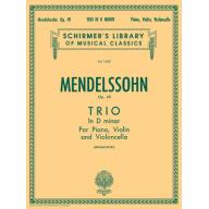 Mendelssohn Trio in D Minor, Op. 49