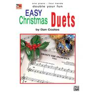 Easy Christmas Duets (1 Piano, 4 Hands) Book
