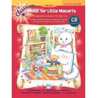 Classroom Music for Little Mozarts: Curriculum Book 1 & CD