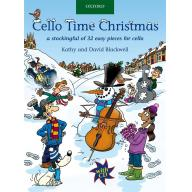 Cello Time Christmas(Book with CD)