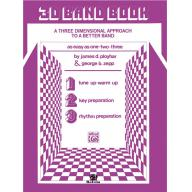 3-D Band Book For C Flute(Piccolo)