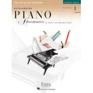 【Faber】Accelerated Piano Adventure – Theory Book 1